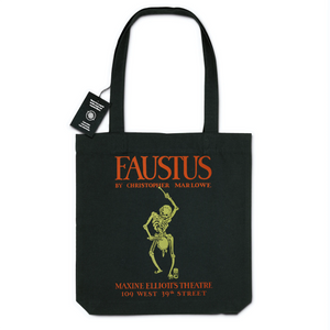 Faustus poster for Federal Theatre Project presentation of Faustus at Maxine Elliott's Theatre c.1940 - Organic Tote Bag
