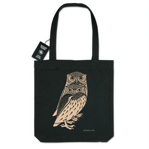 Two Owls by Julie de Graag, c. 1921 - Organic Tote Bag