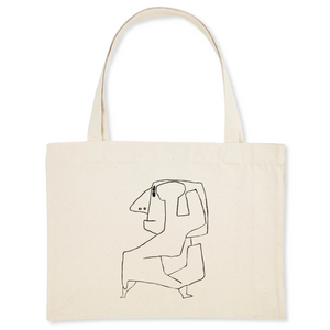 Ohne Titel by Paul Klee, circa 1940 - Organic Cotton Shopping Bag