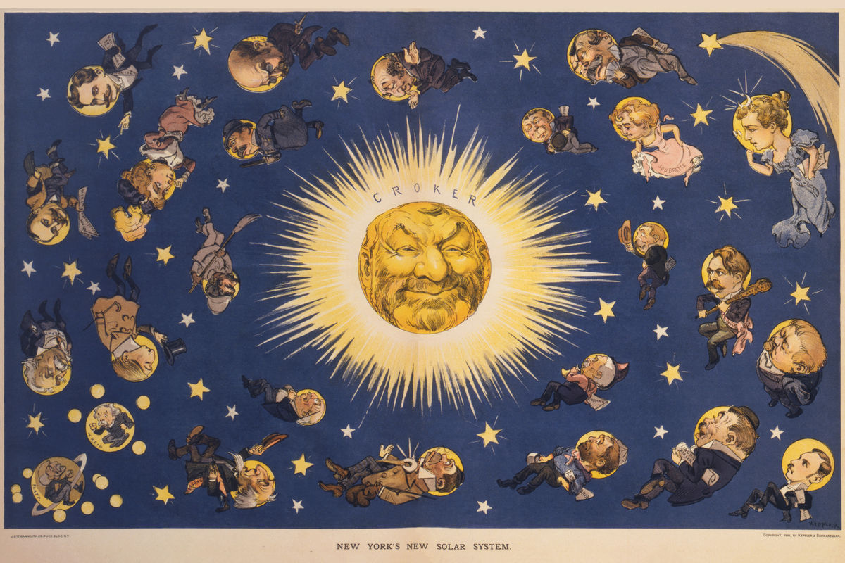 New York's New Solar System by Udo Keppler - 1898