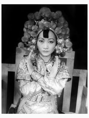 Anna May Wong as Turandot by Carl Van Vechten - 1937