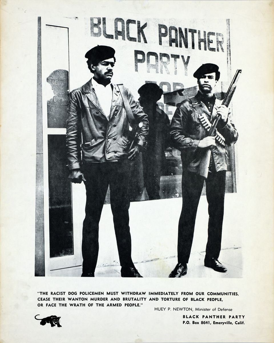 Black Panther Party Poster - 1971