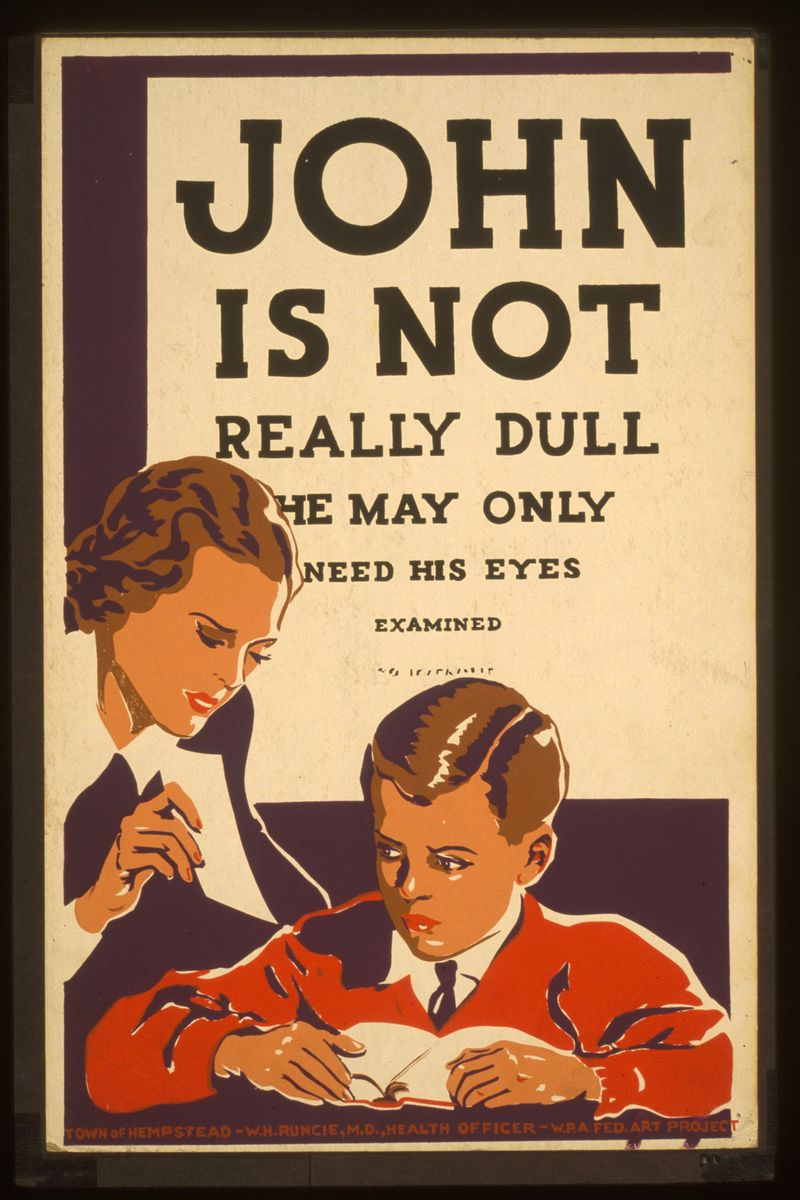 John is Not Really Dull - 1936