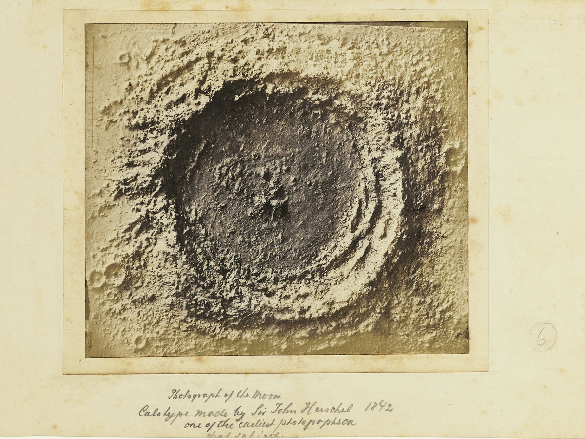 Photograph of the Moon - 1850s
