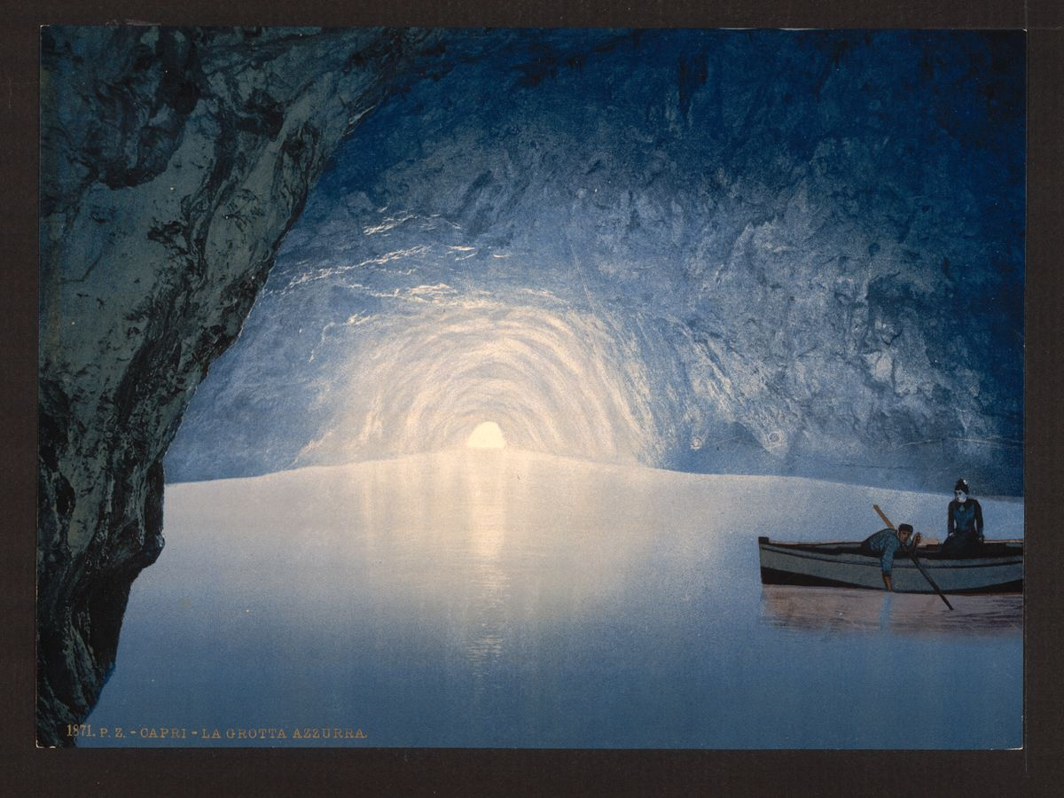 The Blue Grotto - 1890