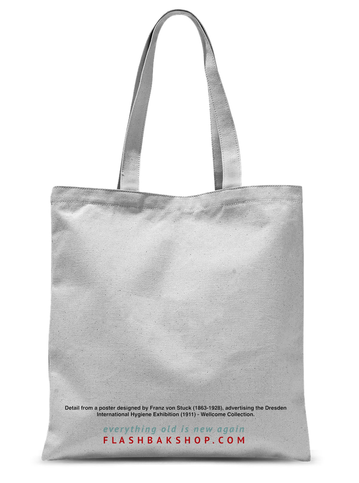 Eye by Franz von Stuck - 1911, Sublimation Tote Bag