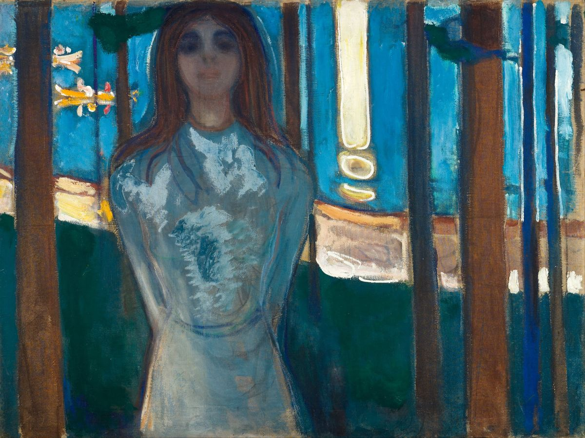 The Voice, Summer Night, by Edvard Munch - 1896