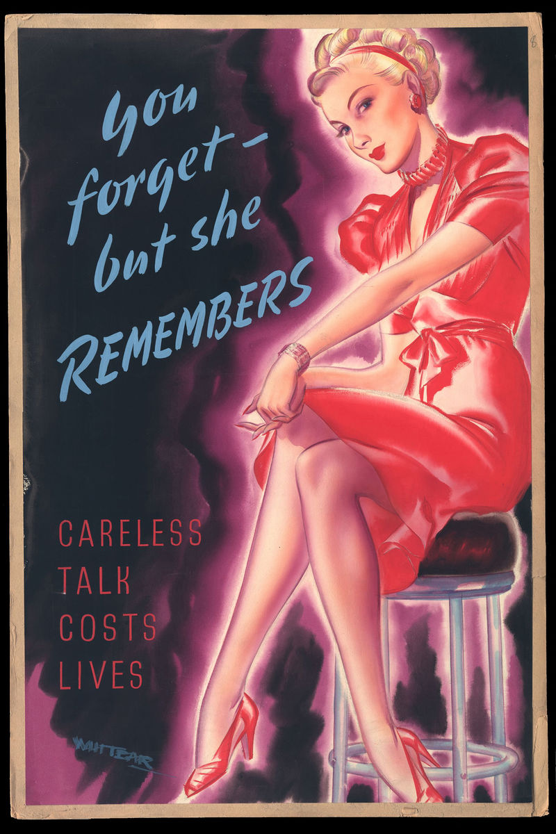 Careless Talk Costs Lives - 1940s