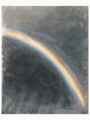 Sky Study with Rainbow by John Constable - 1827