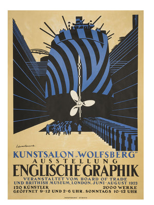 ENGLISCHE GRAPHIK by Edward Wadsworth - 1923