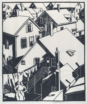 Housetops by Mildred McMillen - 1918