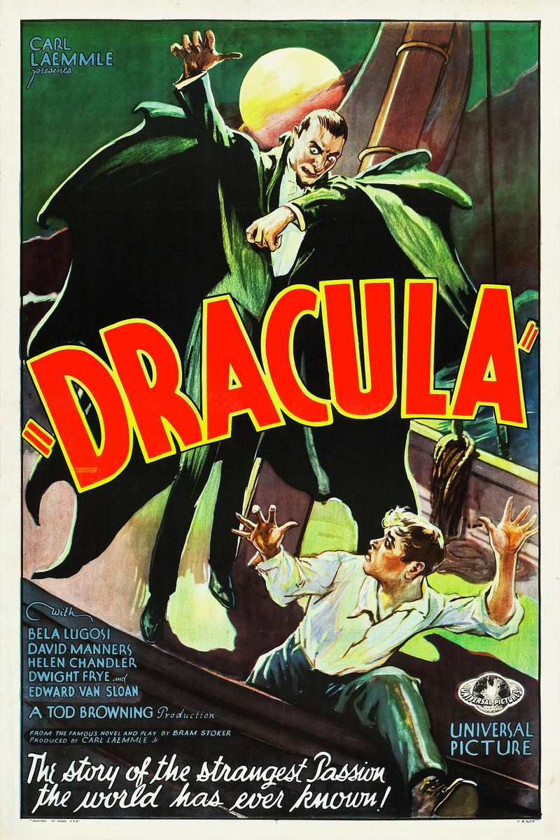 Dracula Movie Poster - 1931
