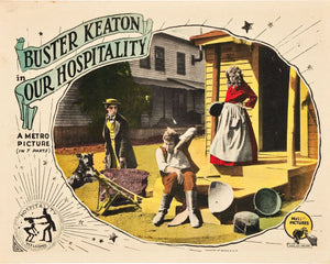 Lobby Card for Buster Keaton's 'Our Hospitality' (II) - 1923