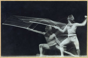 Fencer in Motion by Georges Demeny - 1906