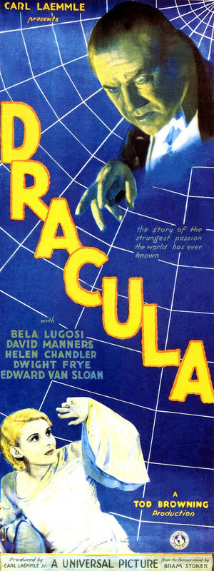 Dracula Insert Movie Poster - 1931