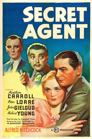 Secret Agent, movie poster - 1936