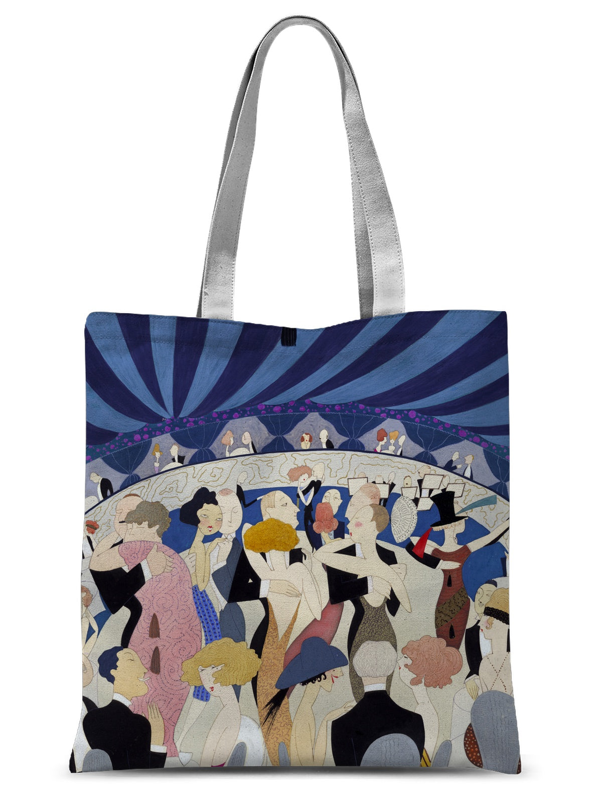 Couples Dancing in a Nightclub by Anne Harriet Fish - 1921 - Sublimation Tote Bag
