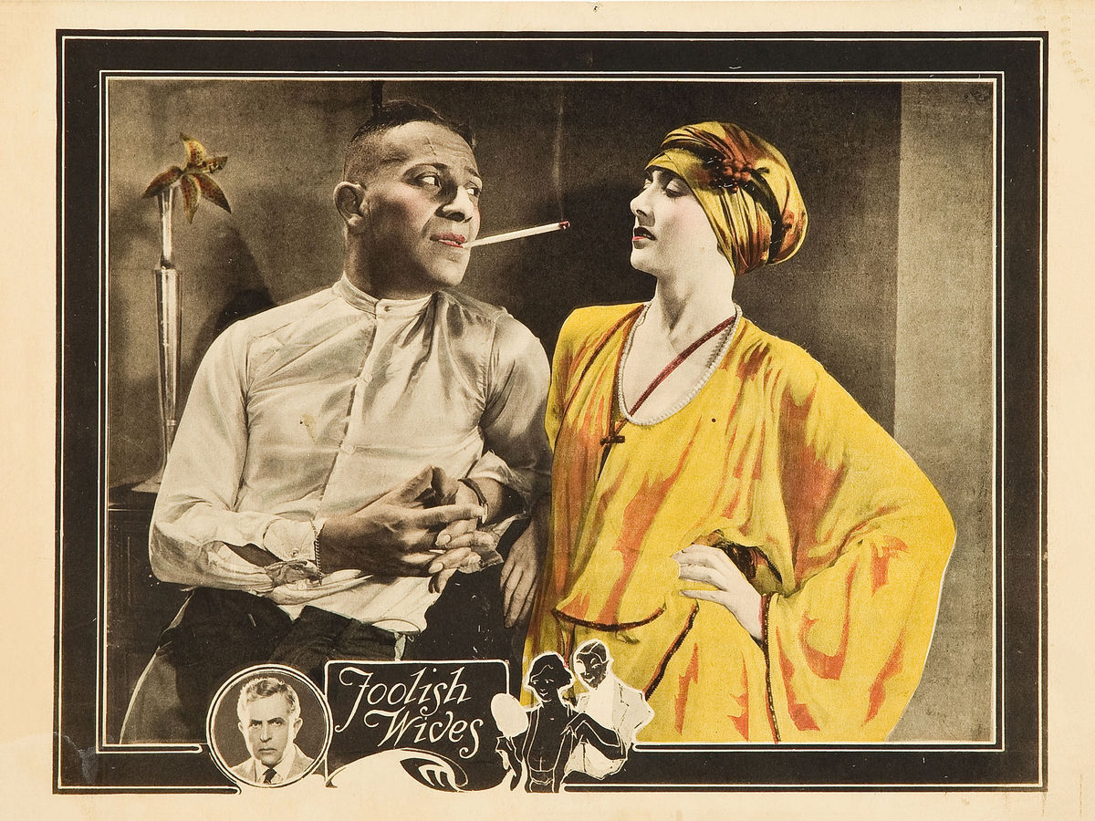 Foolish Wives, Lobby Card - 1922