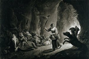 Mad Meg entering hell by Richard Earlom - 1786