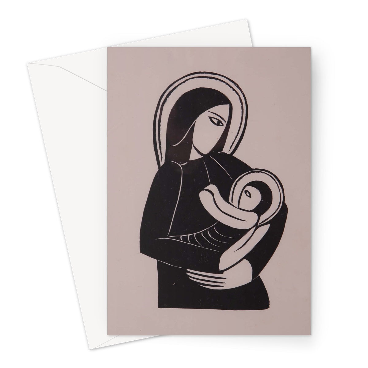 Madonna and Child by Eric Gill - 1919