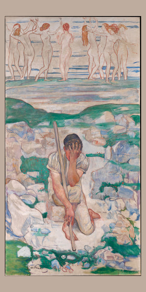 The Dream of the Shepherd by Ferdinand Hodler - 1896