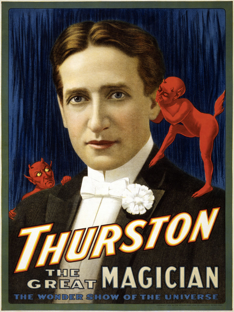 Poster of Howard Thurston - 1914