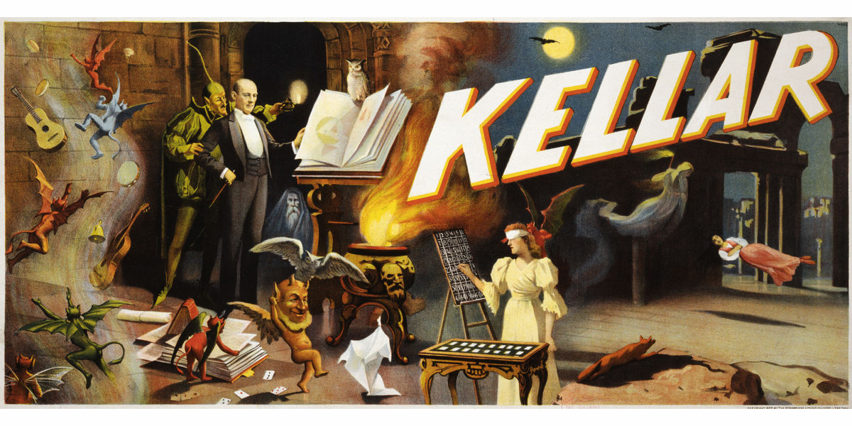 Harry Kellar Poster