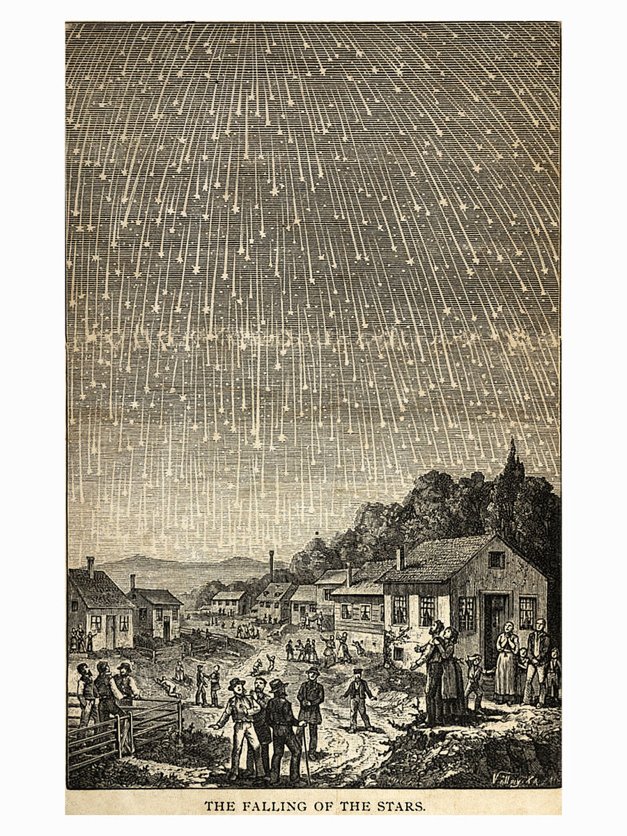 The Falling of The Stars - 1888