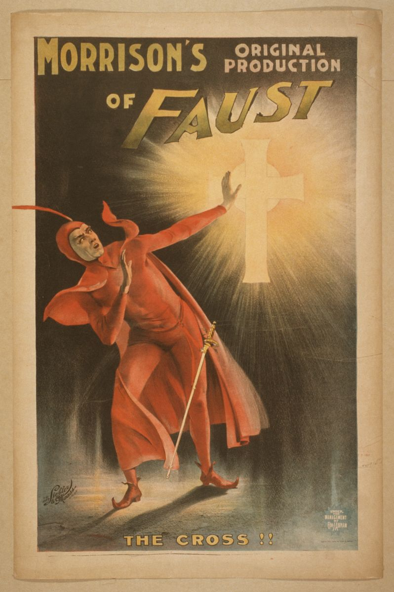 Morrison's Original Production of Faust - 1896