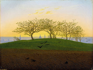 Hills and Ploughed Fields near Dresden Caspar David Friedrich Date- 1825