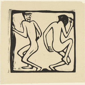 Two Dancers by Christian Rohlfs - 1921