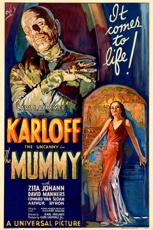 Film poster for The Mummy by Karoly Grosz - 1932