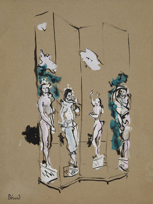 Paravent De Ballet by Christian Bérard (1902-1949)