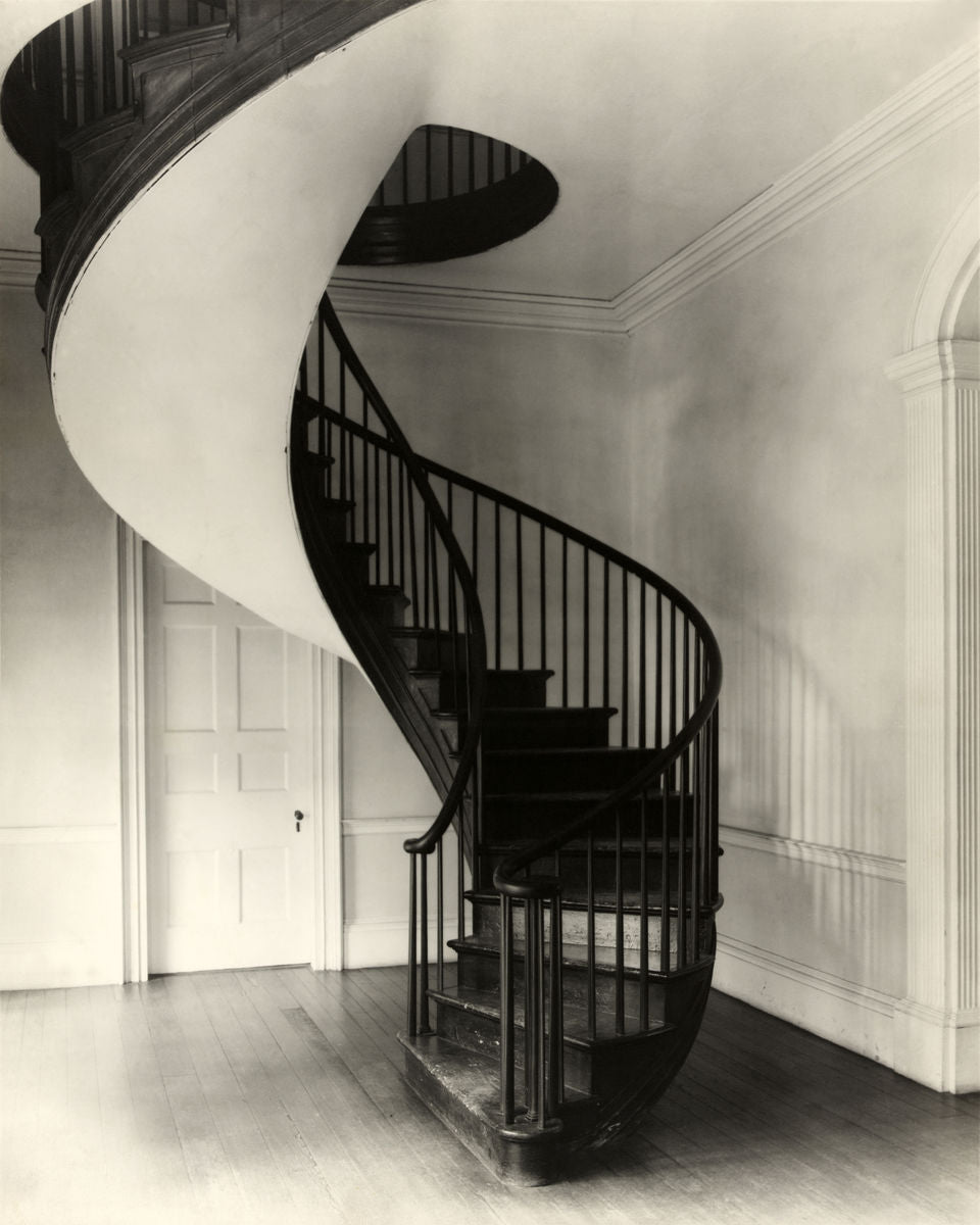 Spiral Staircase by Frances Benjamin Johnston - 1938