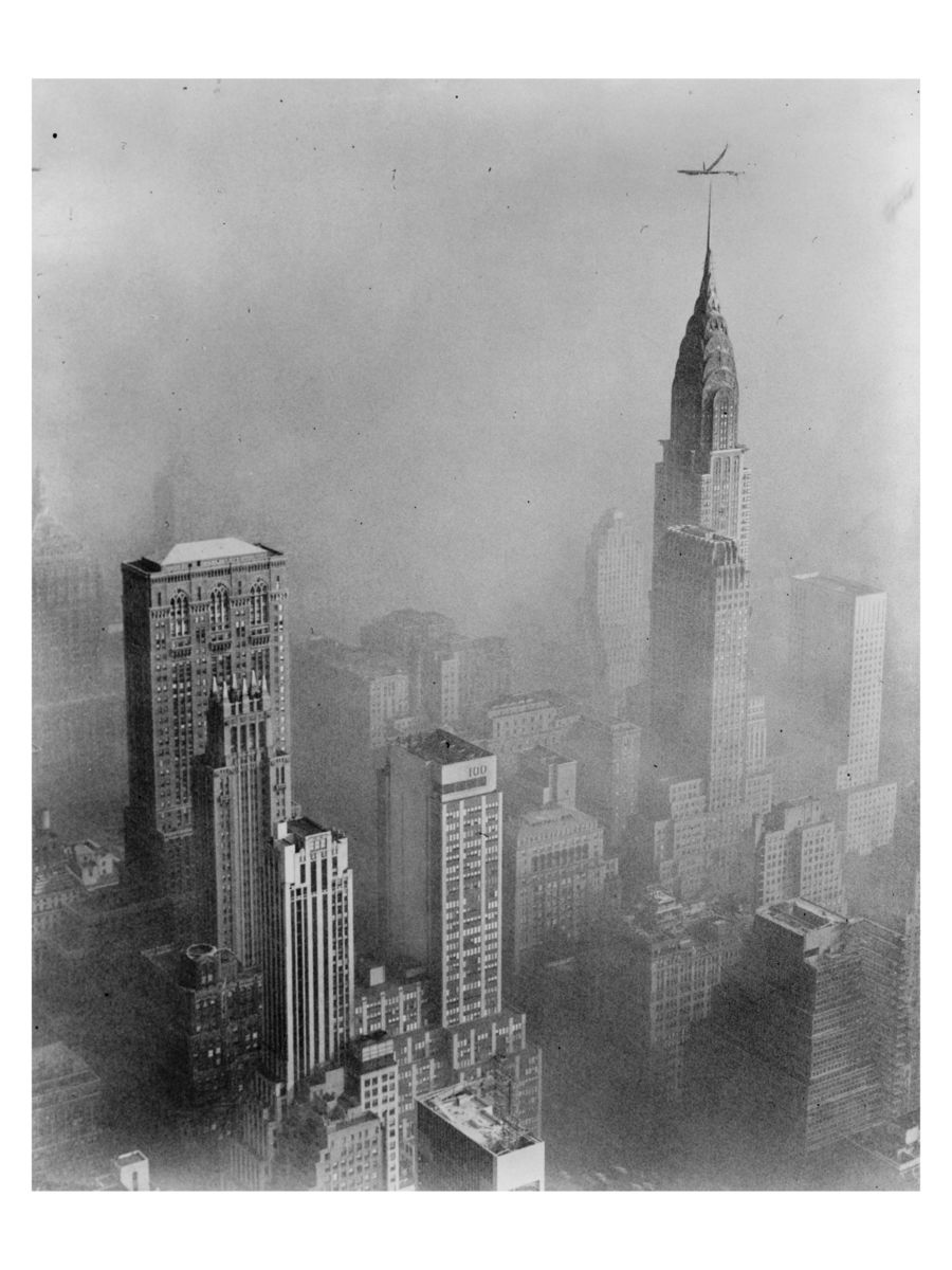 The Chrysler Building by by Walter Albertin - 1953