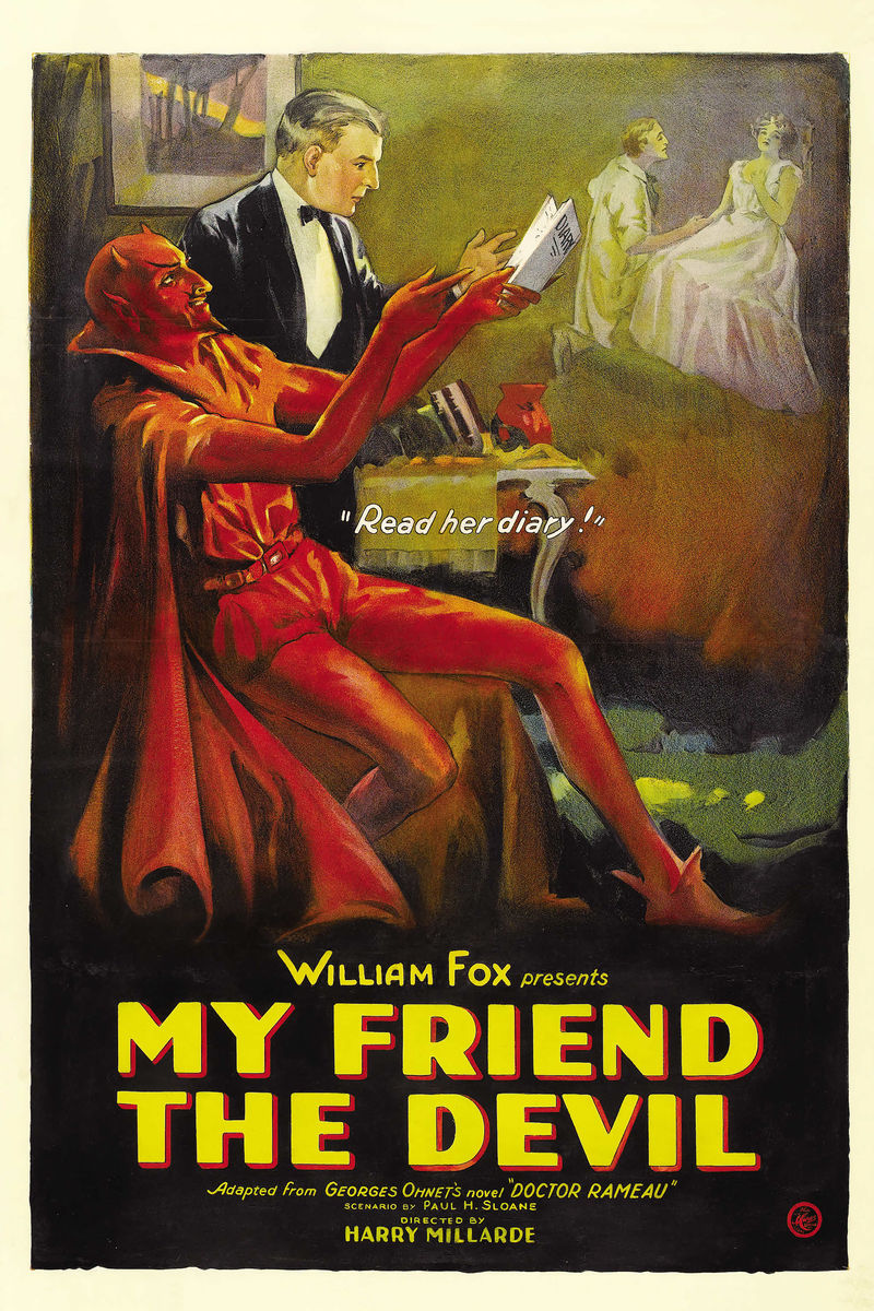 My Friend the Devil, movie poster - 1922