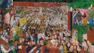 Christ's Entry into Brussels by James Ensor - 1889