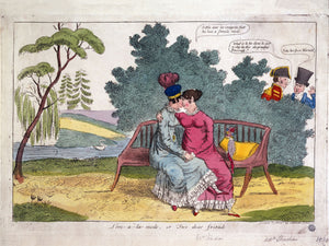 Lady Strachan and Lady Warwick - 1820