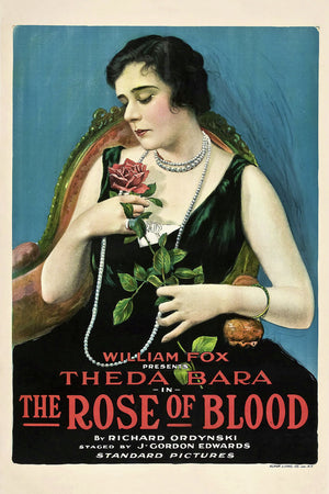 Poster for 'The Rose of Blood' - 1917