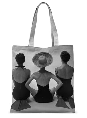 Fashion Models in Swim Suits by Toni Frissell, 1950 - Tote Bag