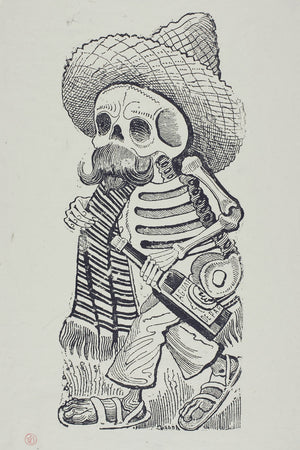 Calavera of Francisco Madero by José Guadalupe Posada