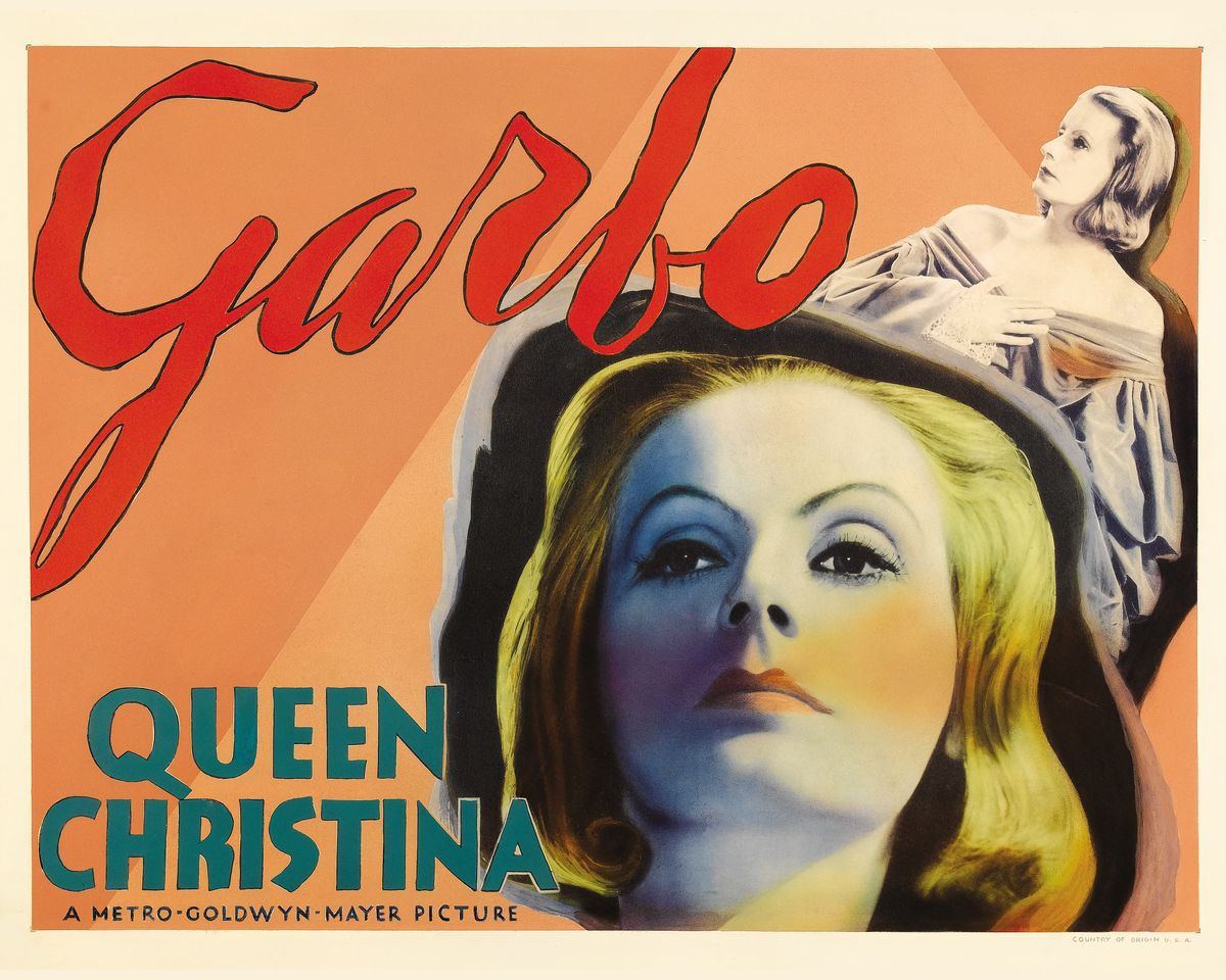 Queen Christina Movie Poster - 1933