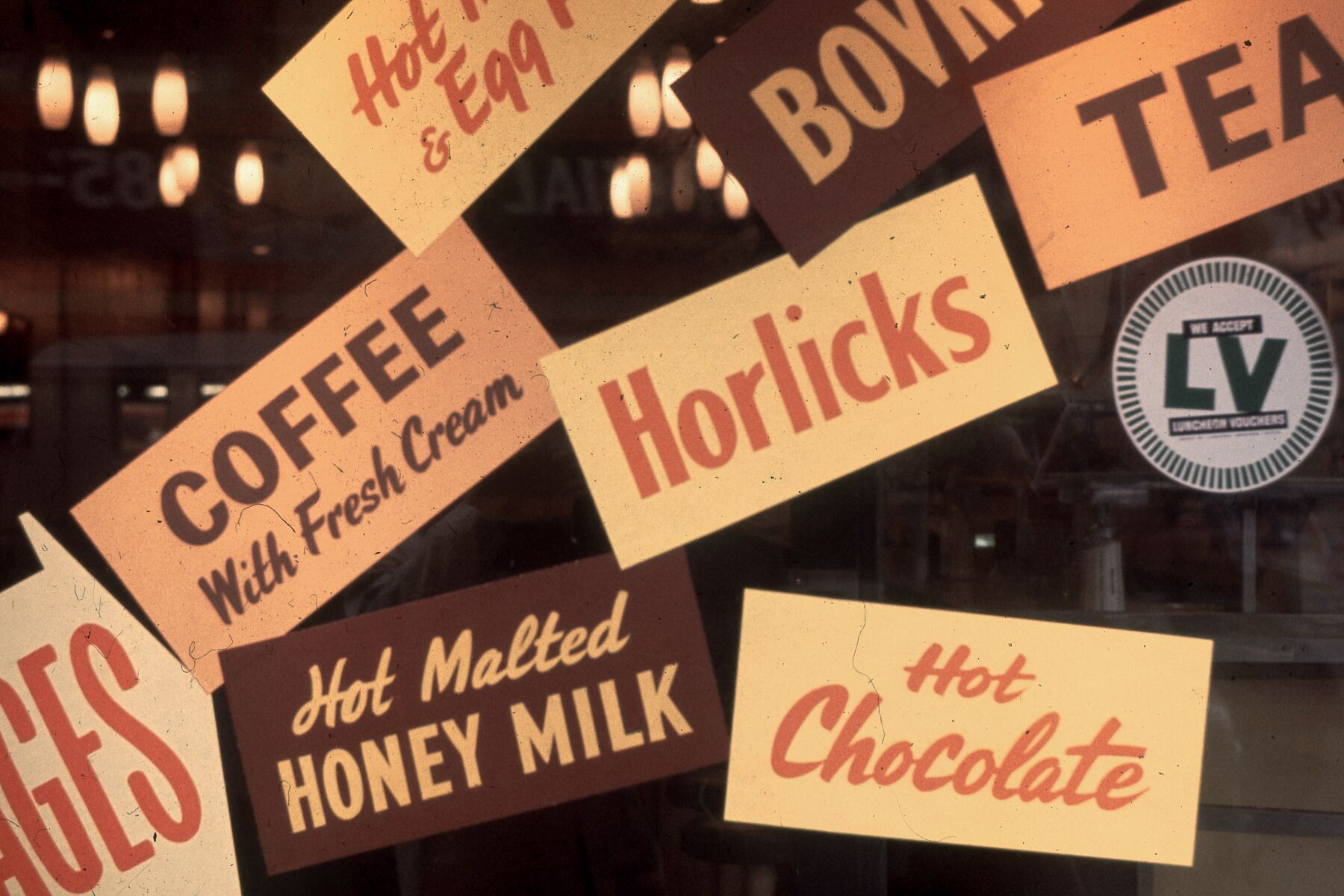 Horlicks and Luncheon Vouchers by Bob Hyde - 1960s