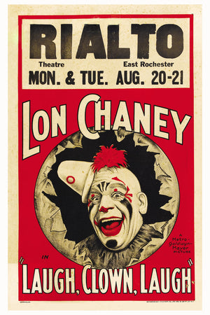 Laugh, Clown, Laugh by Lon Chaney - 1928