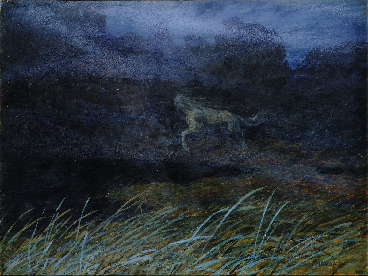 Headless Horse by Jaroslav Panuska - 1900