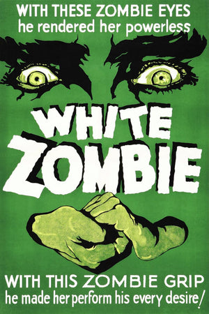 White Zombie, Movie Poster - 1932
