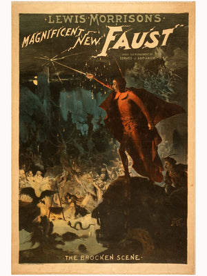 Lewis Morrison's Magnificent New Faust - 1889