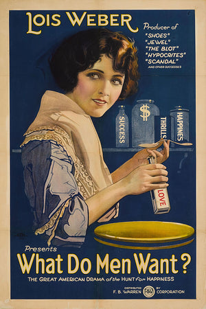What Do Men Want - 1921