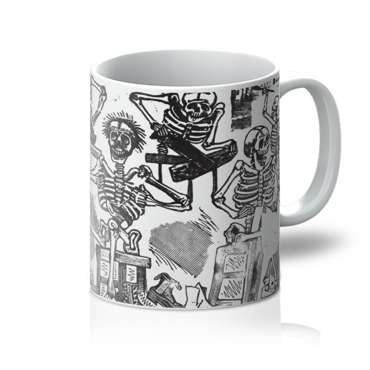 Skeletons as Artisans by José Guadalupe Posada, c. 1890–1910 - Mug