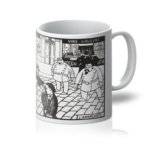 Anarchist by Felix Vallotton - 1892 - Mug